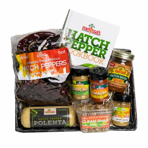 Melissa's Hatch Pepper Gift Basket (Approximate Delivery Time 3-5 Days) Perspective: front