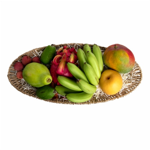 Melissa's Exotic & Tropical Fruit Gift Basket (Approximate Delivery Time 3-5 Days) Perspective: front