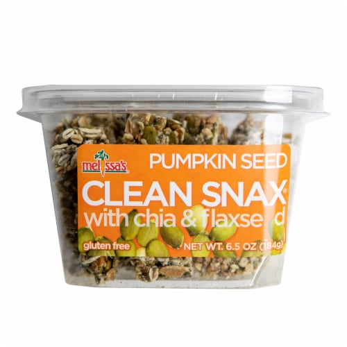 Melissa's Pumpkin Seed Clean Snax Gluten-Free Snack (Approximate Delivery is 3-5 Days) Perspective: front
