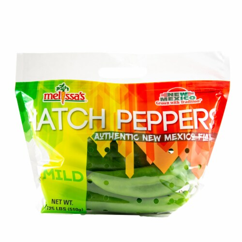 Melissa's Mild Hatch Peppers Perspective: front