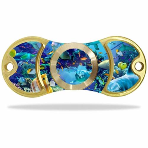 MightySkins FYAMISP-Ocean Friends Skin for Amilife EDC Fidget - Ocean Friends Perspective: front