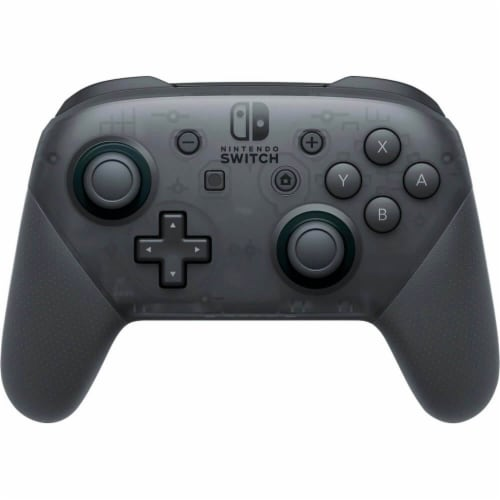 Nintendo Switch Pro Controller - Black Perspective: front