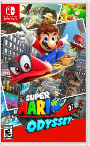 Super Mario Odyssey (Nintendo Switch) Perspective: front