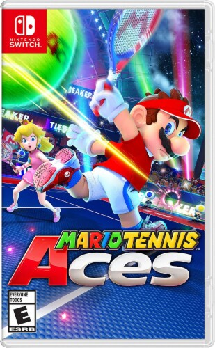 Mario Tennis Aces (Nintendo Switch) Perspective: front