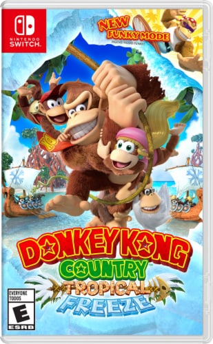 Donkey Kong Country: Tropical Freeze (Nintendo Switch) Perspective: front