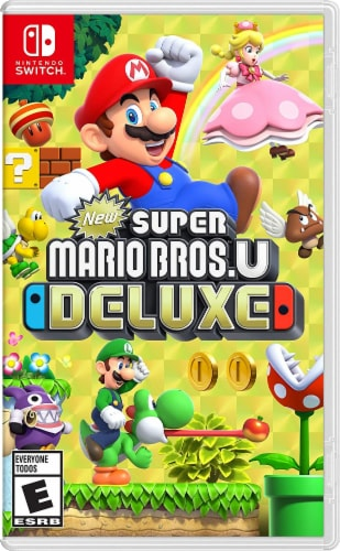 New Super Mario Bros U Deluxe (Nintendo Switch) Perspective: front