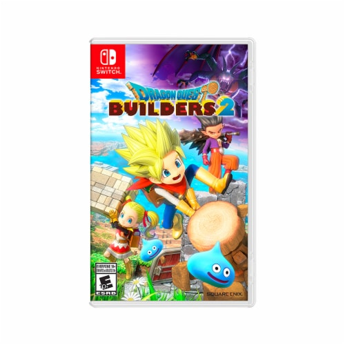 Nintendo Dragon Quest Builders Video Game Perspective: front
