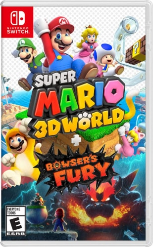 Nintendo Super Mario 3D World-Bowser's Fury Perspective: front