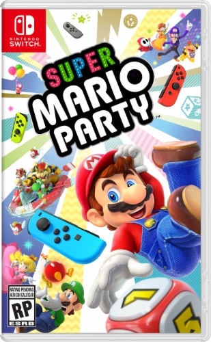 Super Mario Party (Nintendo Switch) Perspective: front