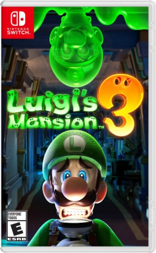 Luigi's Mansion 3 (Nintendo Switch) Perspective: front
