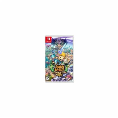 Snack World: The Dungeon Crawl Gold (Nintendo Switch) Perspective: front