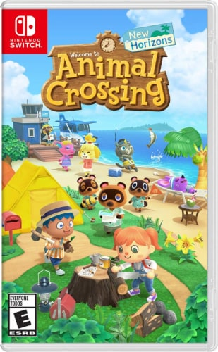 Nintendo Animal Crossing New Horizons Video Game Perspective: front
