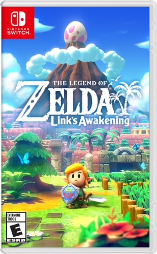 The Legend of Zelda Link's Awakening (Nintendo Switch) Perspective: front