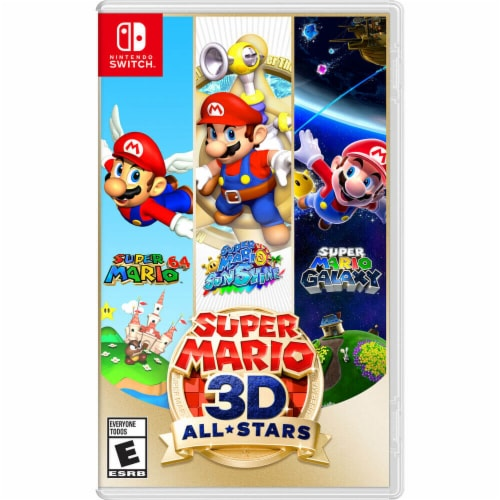 Super Mario 3D All-Stars (Nintendo Switch) Perspective: front