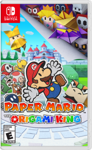 Nintendo Paper Mario The Origami King Video Game Perspective: front
