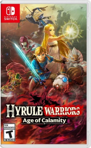 Nintendo Hyrule Warriors Age of Calamity Nintendo Switch Video Game Perspective: front