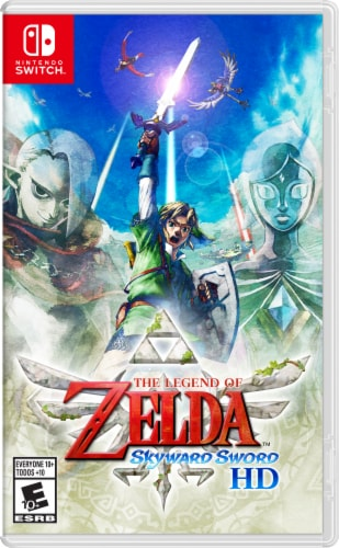 The Legend of Zelda: Skyward Sword HD for the Nintendo Switch Perspective: front