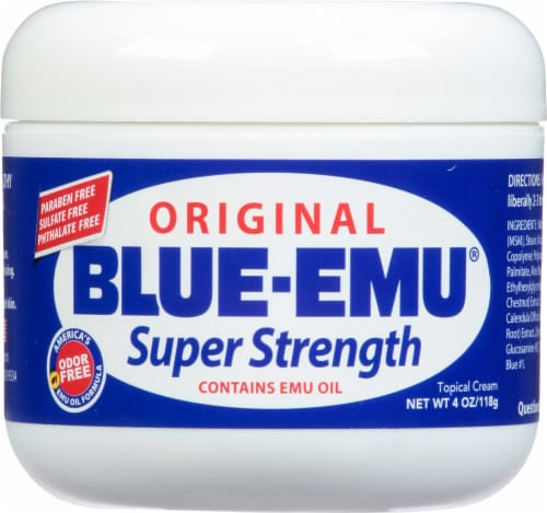 Blue-Emu Original Super Strength Topical Cream Perspective: front