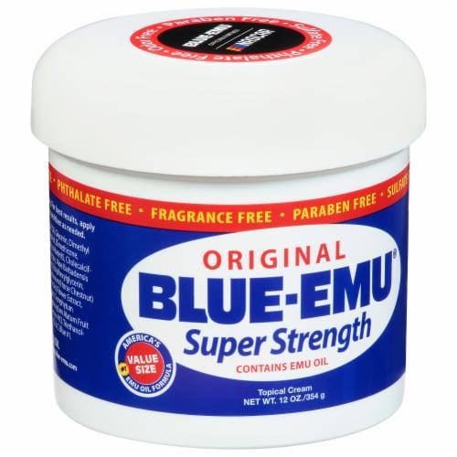 Blue Emu Original Super Strength Topical Cream Perspective: front