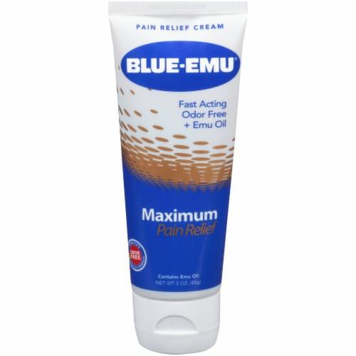 Blue Emu Maximum Arthritis Pain Relief Cream Perspective: front