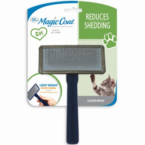 Four Paws Magic Cat Slicker Brush Perspective: front