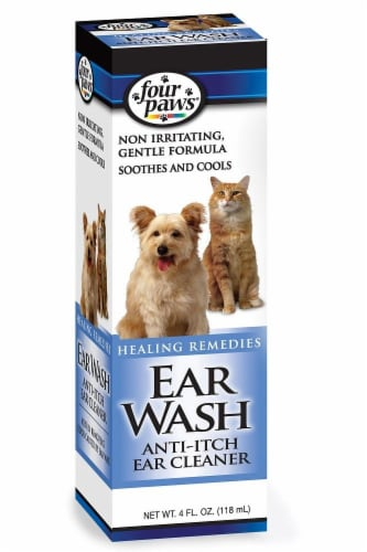 Four Paws Healing Remedies Ear Wash Perspective: front