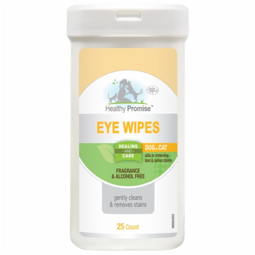Four Paws Eye Wipes for Dog & Cat Perspective: front