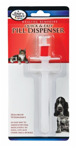 Four Paws Quick & Easy Pill Dispenser Perspective: front