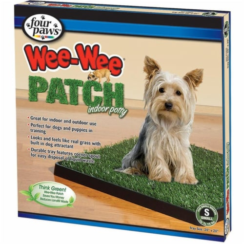 Four Paws® Wee-Wee® Patch Indoor Potty Perspective: front