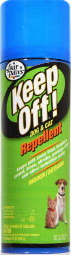 Four Paws Keep Off! Dog & Cat Repellant Perspective: front