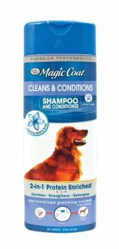 Four Paws Magic Coat 2 In 1 Shampoo Perspective: front