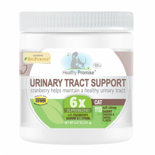 Four Paws Healthy Promise Urinary Tract Support Soft Chews Perspective: front