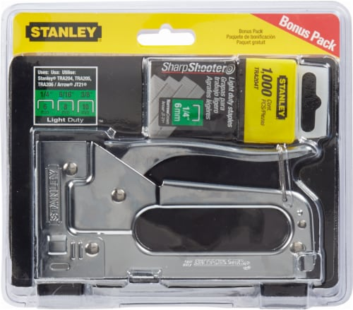 Stanley® Light Duty Staple Gun Perspective: front