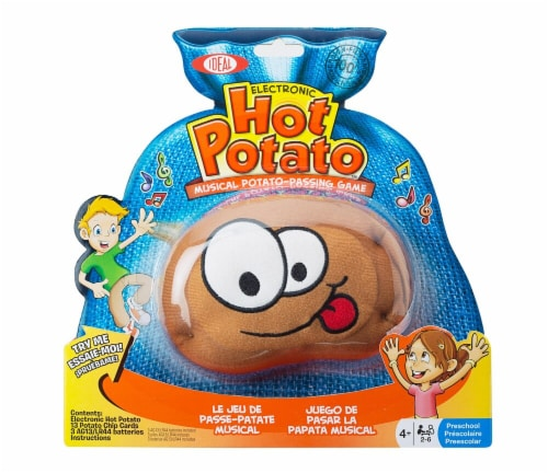 Poof  Electronic Hot Potato Musical Passing Game Perspective: front