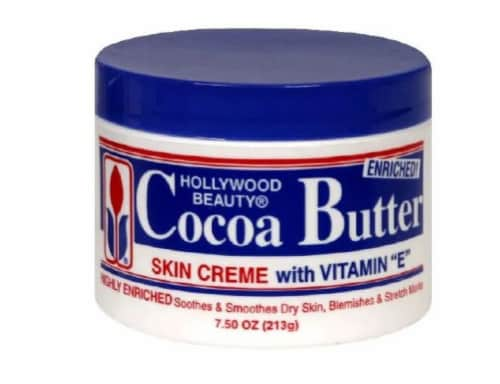 Hollywood Beauty Cocoa Butter Skin Cream Perspective: front
