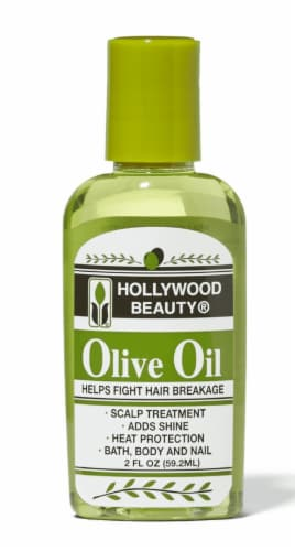 Hollywood Beauty Olive Oil Scalp Treatment Perspective: front