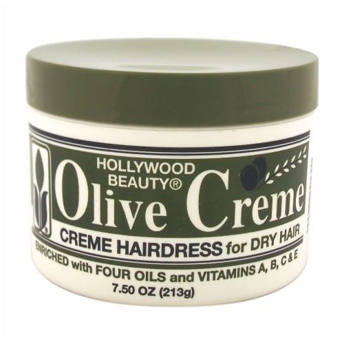 Hollywood Beauty Olive Creme for Dry Hair Perspective: front
