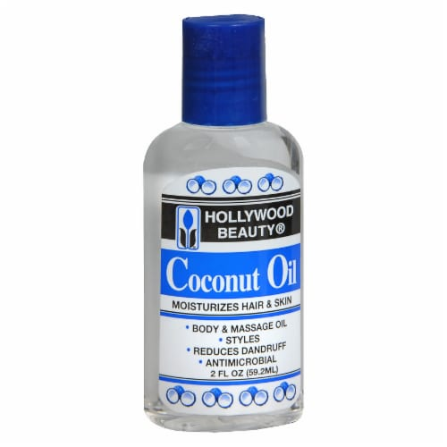 Hollywood Beauty Coconut Oil Moisturizer Perspective: front