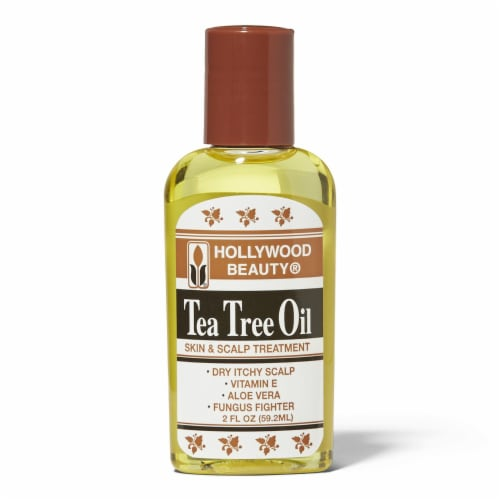 Hollywood Beauty Tea Tree Oil Skin & Scalp Treatment Perspective: front