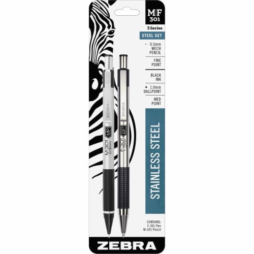 Zebra Pen  Pen/Pencil Set 57011 Perspective: front
