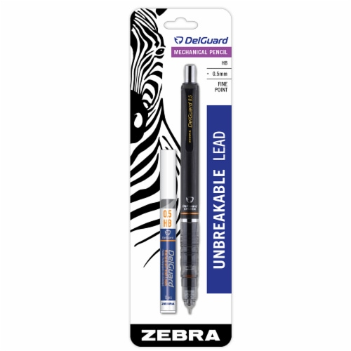 Zebra DelGuard Fine Point Mechanical Pencil with Refill Perspective: front