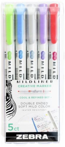 Zebra Mildliner Mild Color Creative Markers Perspective: front