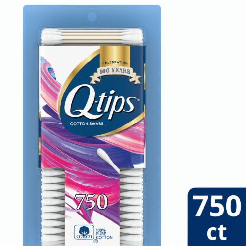 Q-tips Original Cotton Swabs Perspective: front