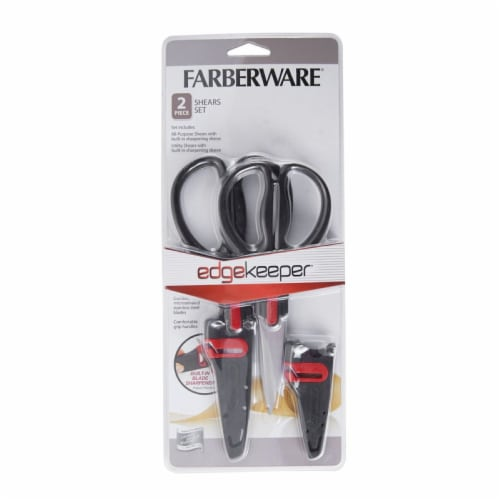 Farberware Edgekeeper Shears Set - Black Perspective: front