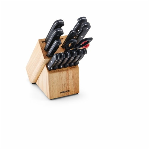 Farberware EdgeKeeper Cutlery Set Perspective: front