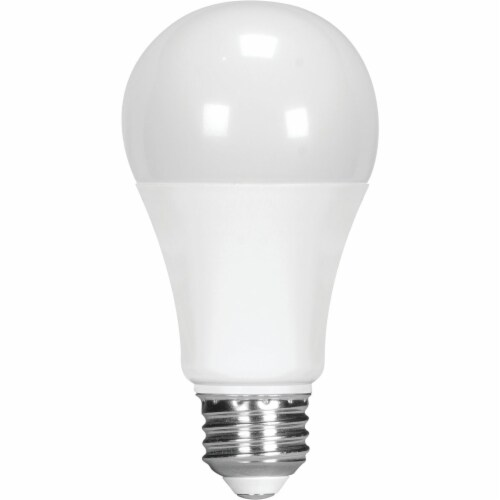 Satco 75W Equivalent Natural Light A19 Medium Dimmable LED Light Bulb S8484 Perspective: front
