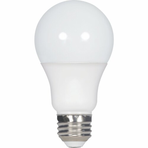 Satco 75W Equivalent Natural Light A19 Medium LED Light Bulb (4-Pack) S8565 Perspective: front