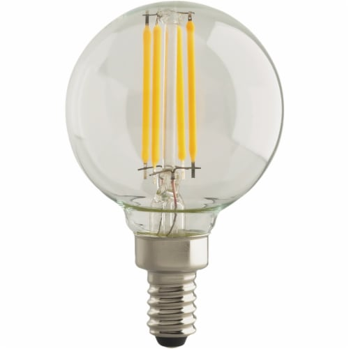 Satco 2pk 40w G16 Cnd Led Bulb S21735 Perspective: front
