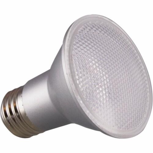 Satco 50W Equivalent Soft White PAR20 Medium Dimmable LED Floodlight Light Bulb Perspective: front