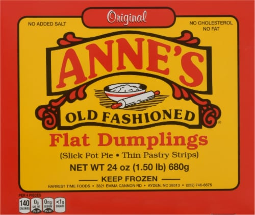 Anne's Old Fashioned Flat Dumplings Perspective: front
